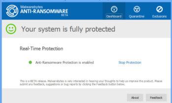 Malwarebytes Anti-Ransomware est disponible en version bêta