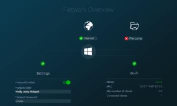 Netify Jump transforme votre ordinateur en un routeur et/ou répéteur WiFi