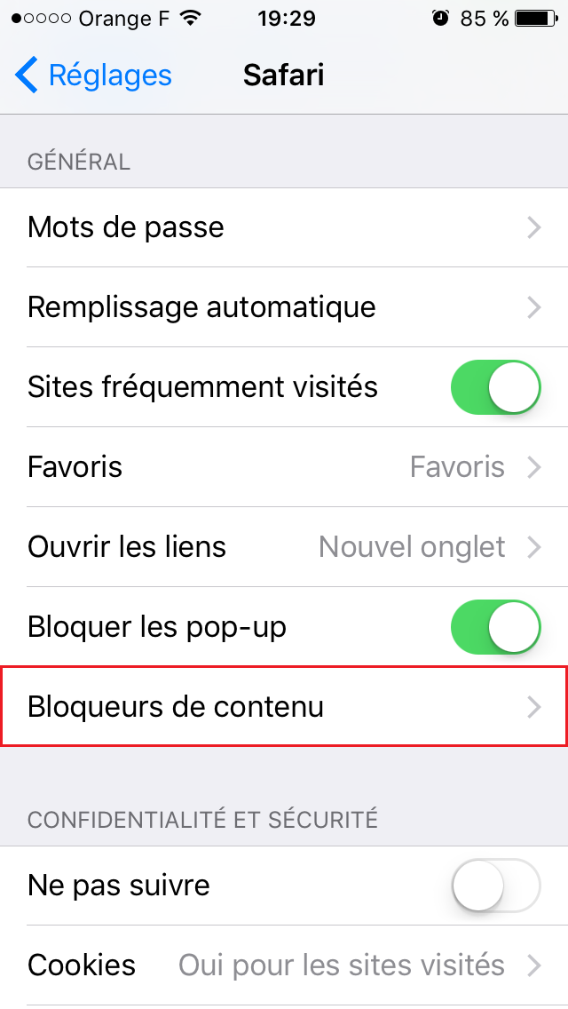 comment <b>bloquer</b> les <b>pubs</b> sur <b>iphone</b> , <b>ios</b> 11-<b>12</b> - YouTube