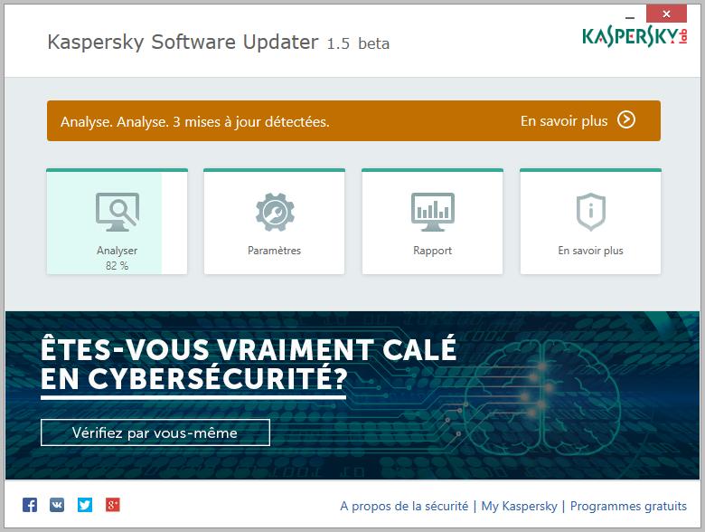 Kaspersky software updater garder vos logiciels 224 jour justgeek