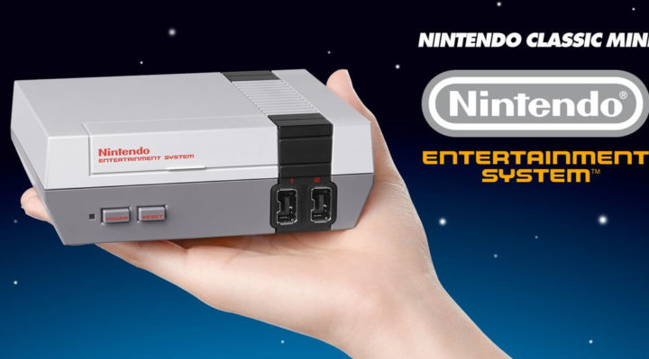 Nintendo Classic Mini NES : la «nouvelle» console de Nintendo !