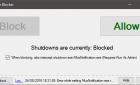 Bloquer l'arrêt, le redémarrage ou la déconnexion de votre PC avec shutdownBlocker