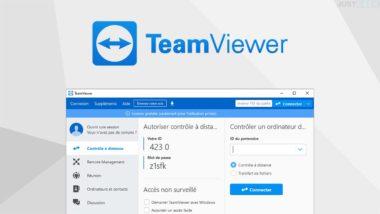 TeamViewer : logiciel pour contrôler un ordinateur à distance