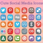 Cute Social Media Icons
