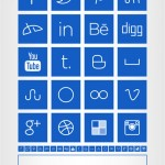 Sleek-Square-Social-Media-Icons