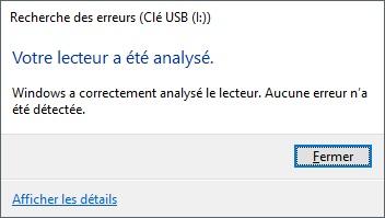 Rapport analyse clé USB