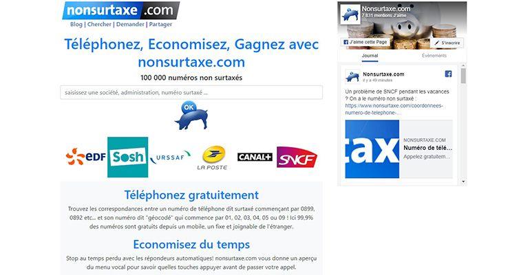 Nonsurtaxe.com