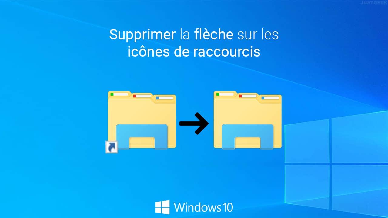 Supprimer la flèche des raccourcis Windows