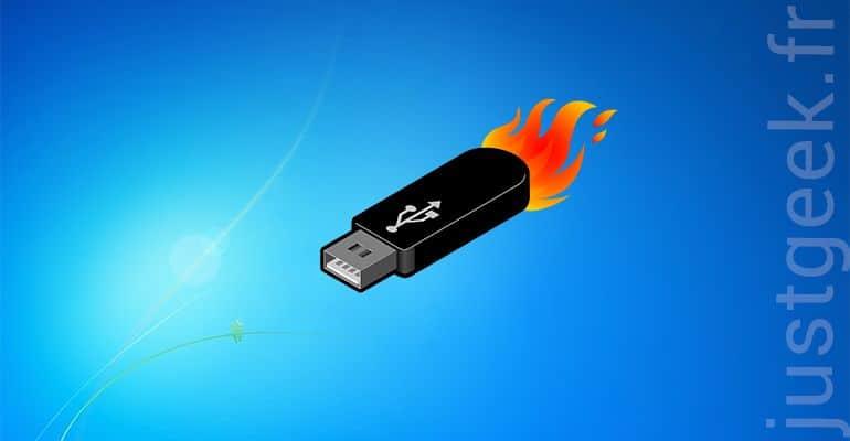 Augmenter la vitesse de transfert de votre clé USB