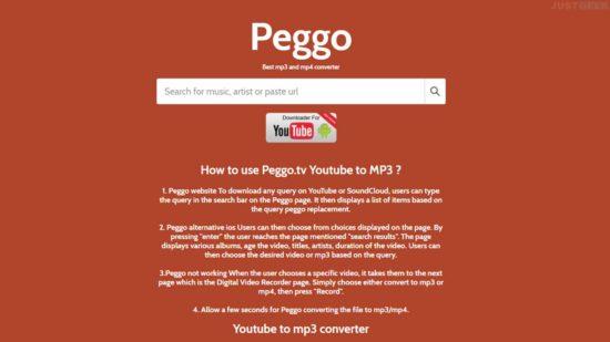 Télécharger une vidéo YouTube en MP3 ou MP4 avec Peggo