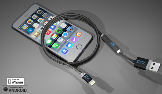 sonicable-cable-recharge-rapide