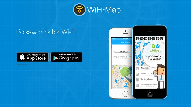 wifi map mot de passe hotspots wifi