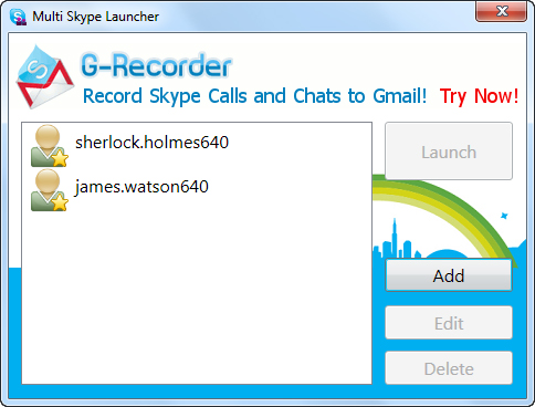 multi-skype-launcher-screen-1
