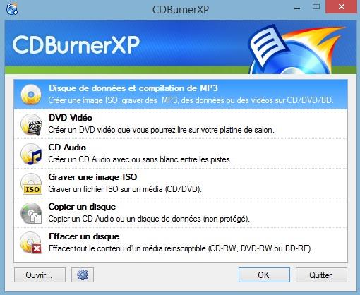 cdburnerxp   un logiciel de gravure tr u00e8s complet et gratuit