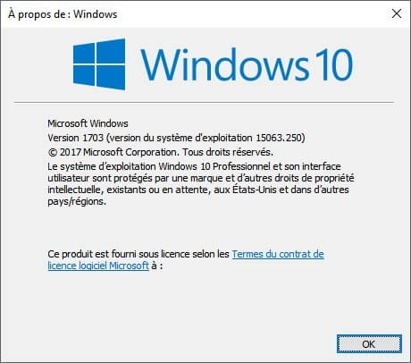 Com Ef Bf Bdment Connaitre Windows  Version Build