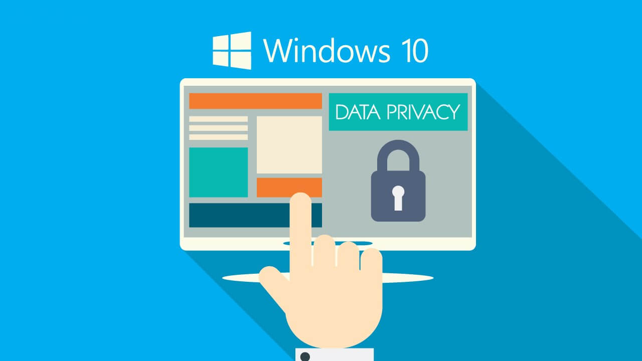 Windows 10 : protection vie privée