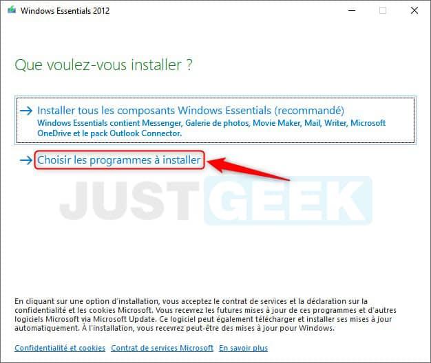 Windows Essentials 2012 en français