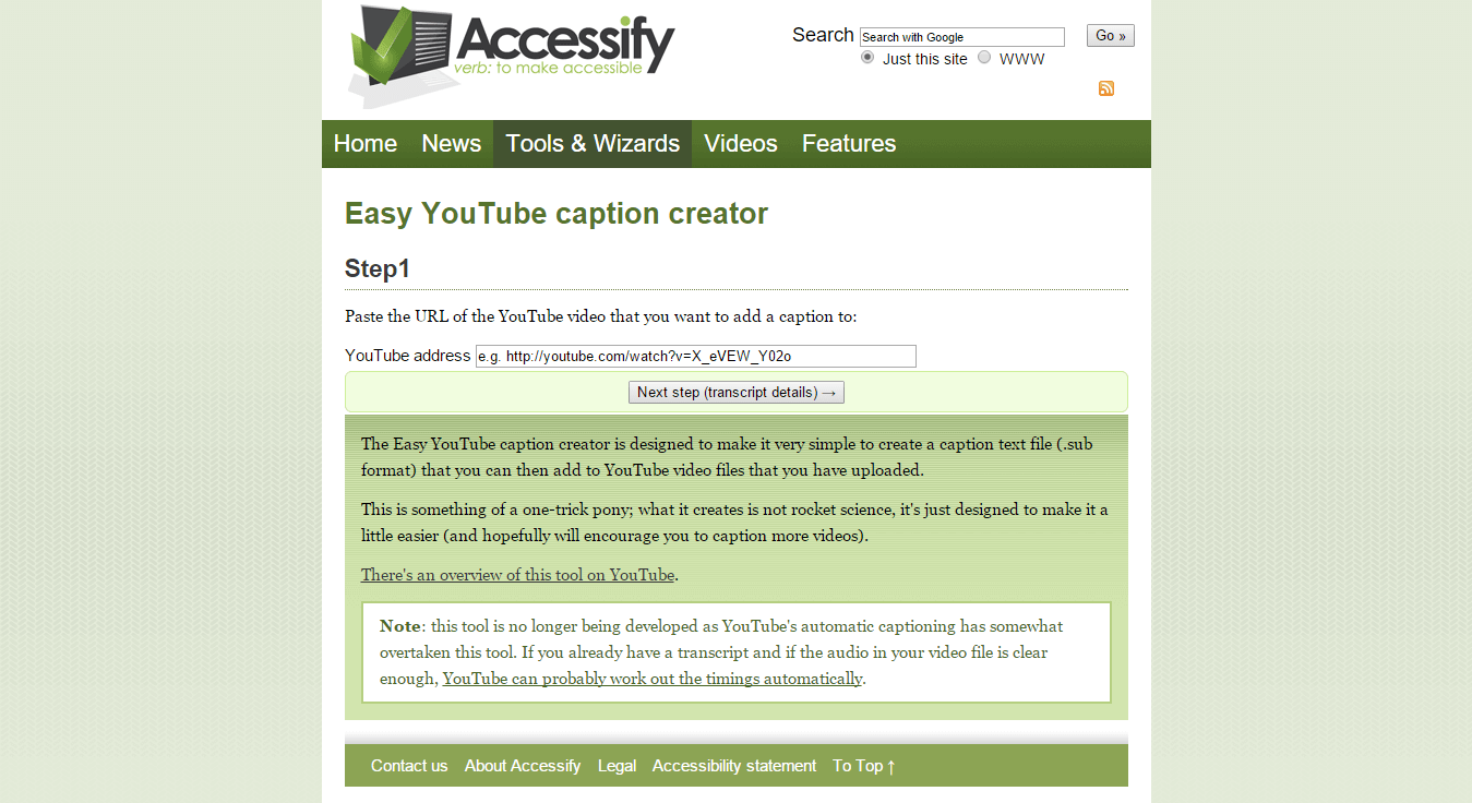 Easy-YouTube-caption-creator