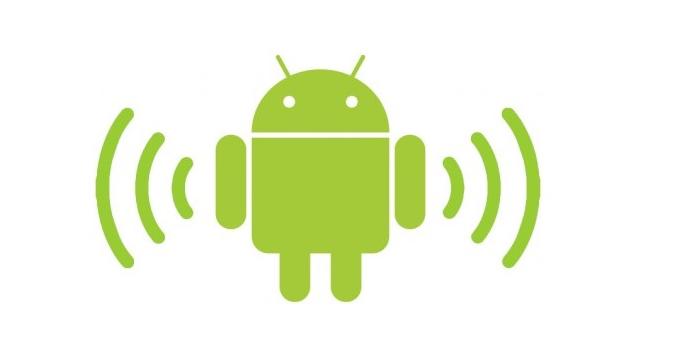 partage connexion android