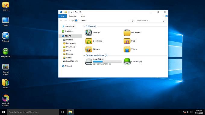 deepin-theme-windows10