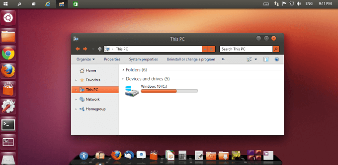 ubuntu-theme-windows10
