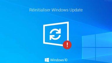 Réinitialiser Windows Update dans Windows 10