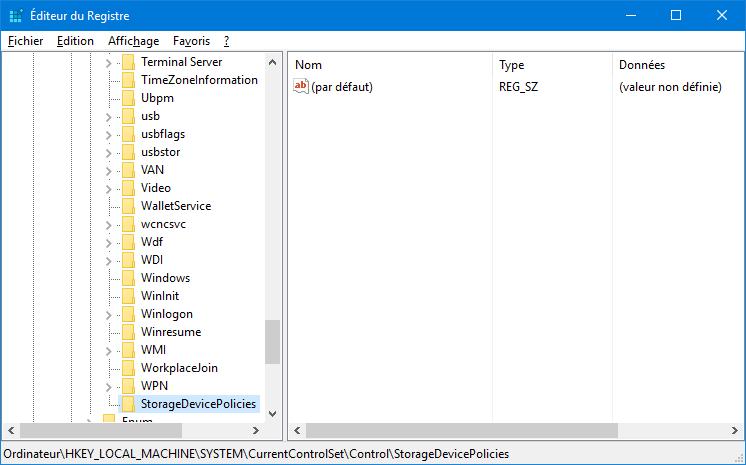 editeur_du_registre_windows_storagedevicepolicies