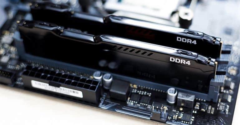 Mémoire vive (RAM) PC DDR4