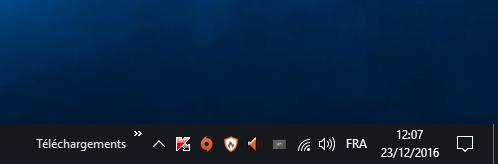 Windows 10 : Ajouter des barres d'outils à la barre des tâches