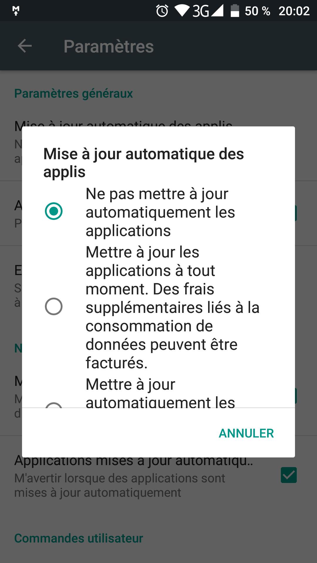 application mouchard telephone
