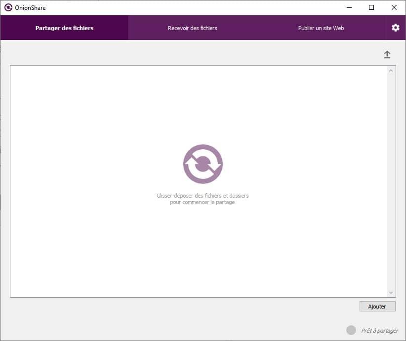 OnionShare : Partager des fichiers via le réseau Tor