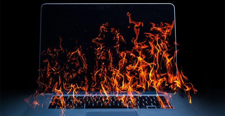 PC en surchauffe