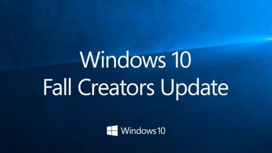 Télécharger et installer Windows 10 Fall Creators Update (version 1709)