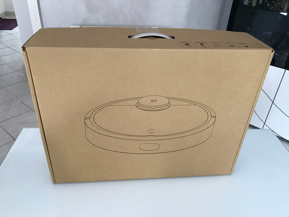 Packaging du Xiaomi Mi Robot Vacuum