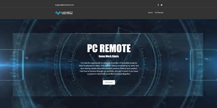 Monect PC Remote : Contrôler votre PC depuis votre mobile