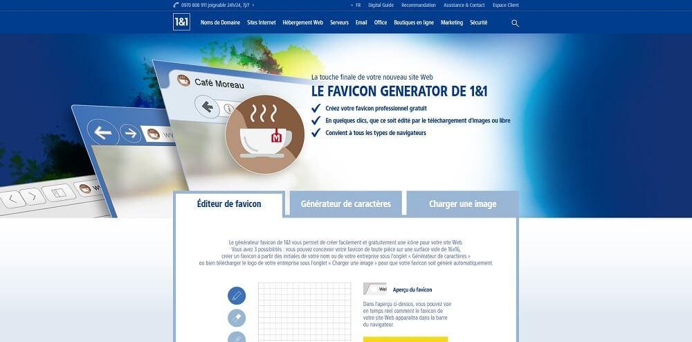 Favicon Générateur de 1&1