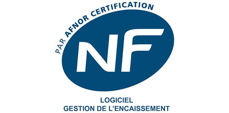 Logo NF525 logiciel de caisse