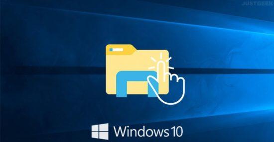 Windows 10 : ouvrir des fichiers et dossiers par un simple clic