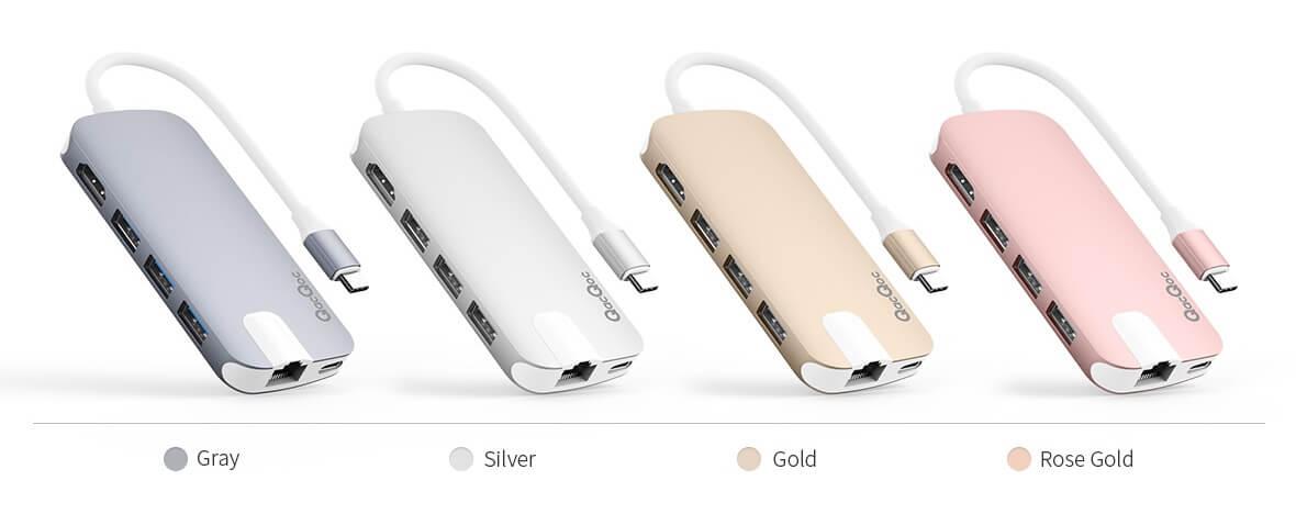 Coloris Hub GN30H Premium USB-C