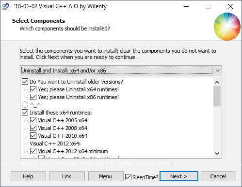 Visual C++ Installer/Uninstaller