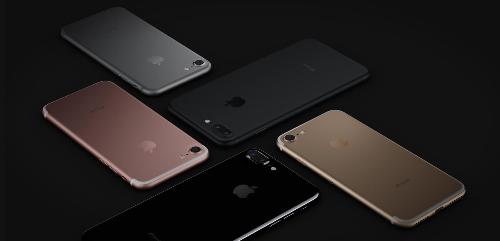 Différentes coloris iPhone 7