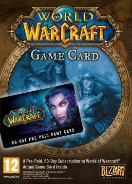 Carte prépayée World of Warcraft pas cher