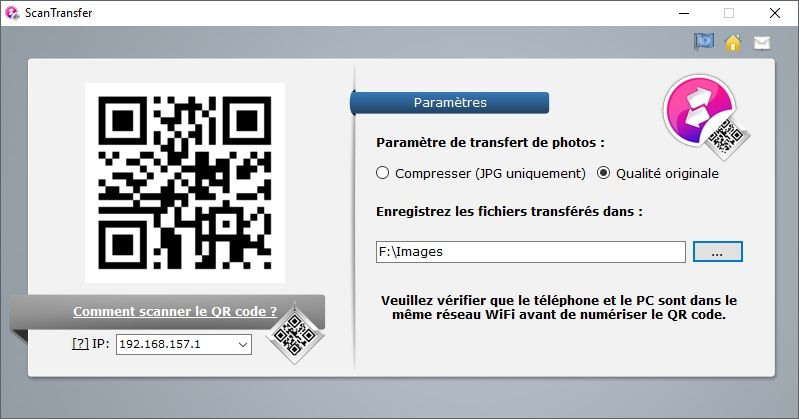 transferer une application payanye android vers iphone