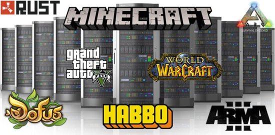 Serveurs privés jeux-vidéo