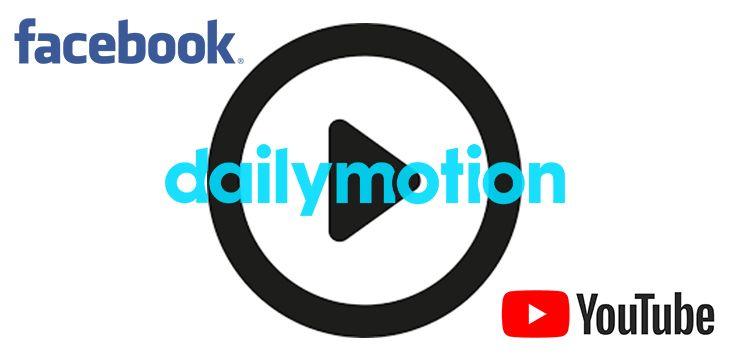Télécharger les vidéos Facebook, YouTube et Dailymotion