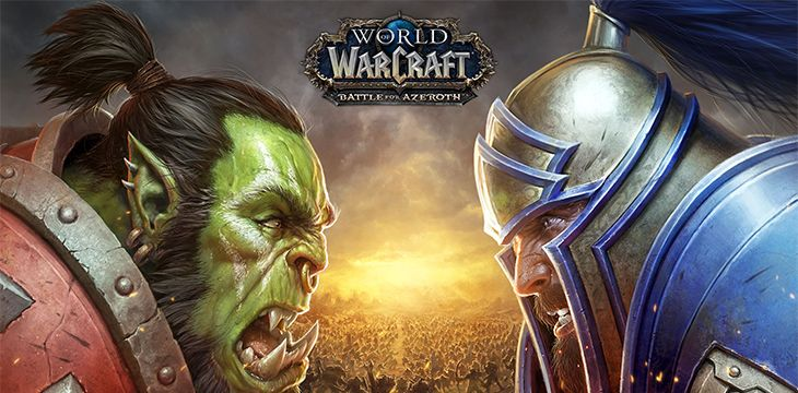 Affiche World of Warcraft : Battle for Azeroth