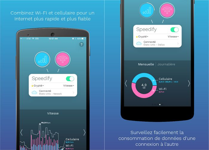 Speedify Screenshot