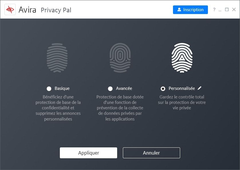 Avira Privacy Pal : Protection de la vie privée