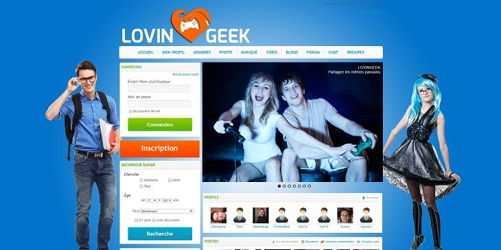 Gamer nerd site de rencontre