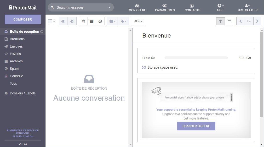 ProtonMail, une messagerie ultra sécurisée